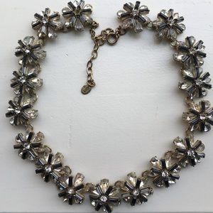Loft // flower statement necklace
